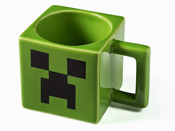 10. Minecraft Coffee Mug