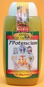 BAÑO DESPOJOS RITUAL 7 POTENCIAS