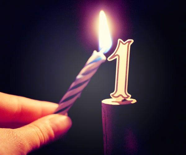 Image anniversaire un an
