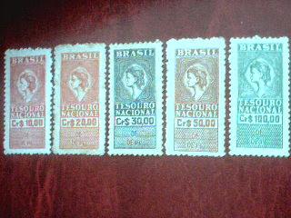 BRASIL CRUZEIROS 1960