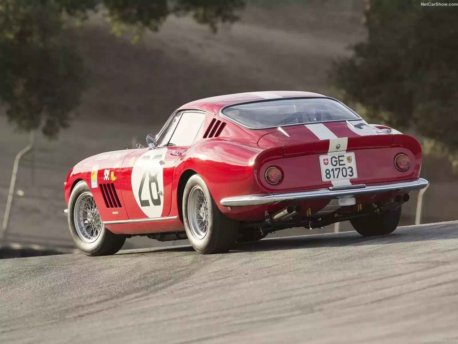 Hình ảnh siêu xe Ferrari 275 GTB Competizione 1966 & nội ngoại thất