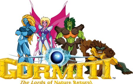 gormiti the lords of nature return, luminor, noctis, tasarau, lavion, magmion, polypus