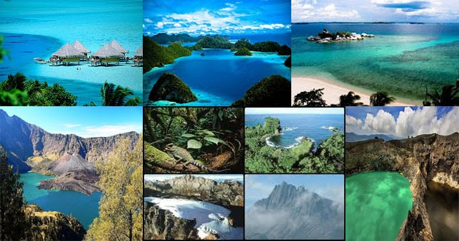 Interesting vacation places in indonesia world fun vacation Most interesting places to visit in the world