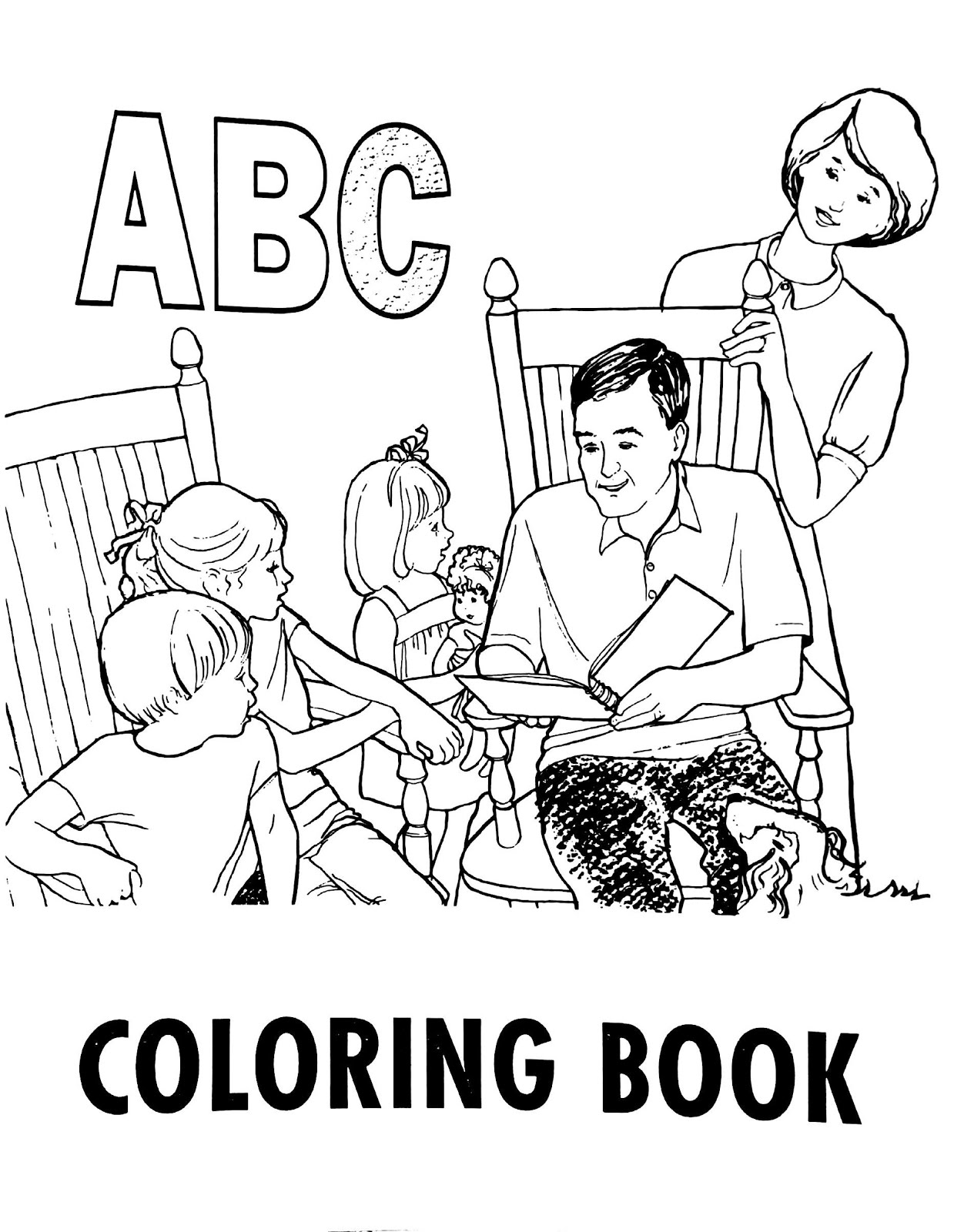 abc bible coloring pages - photo#22