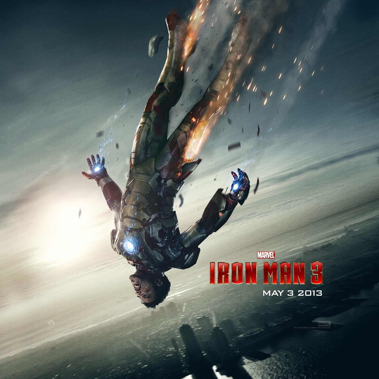 Iron Man 3 iPad wallpaper 2048x2048 005