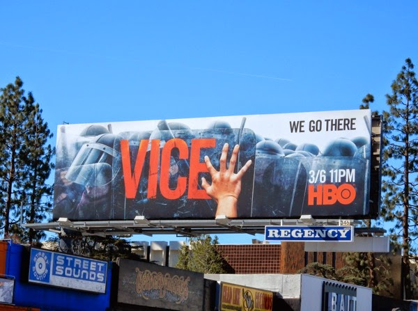 Vice season 3 We go there billboard