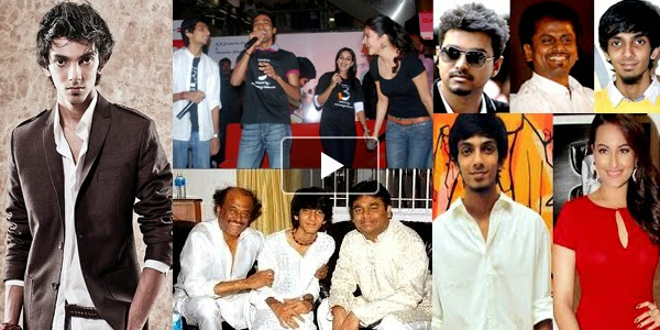 Listen to Anirudh Ravichander Songs on Raaga.com