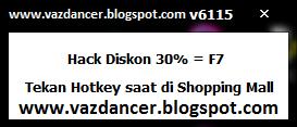Cheat Hack Diskon 30% All Item AyoDance V6115