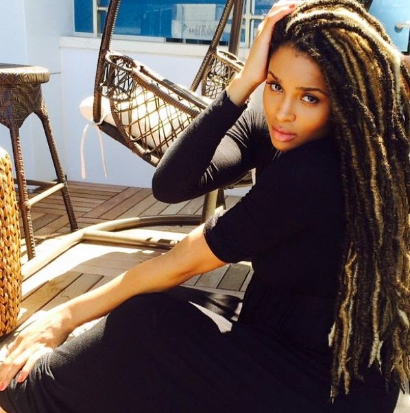 Phenomenal Woman: Ciara's new look in Faux dreads.