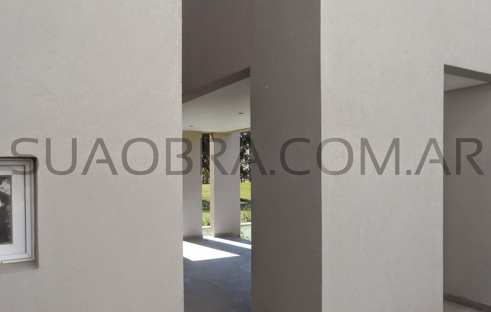 Tarquini revestimiento color para paredes exteriores for Revestimiento plastico para paredes