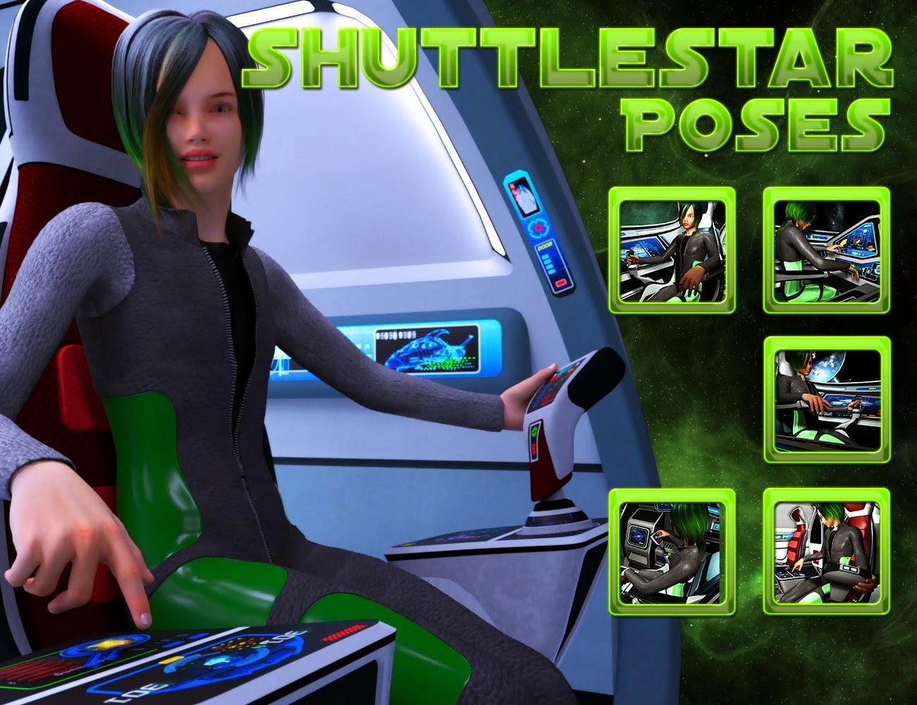 Poses Shuttlestar