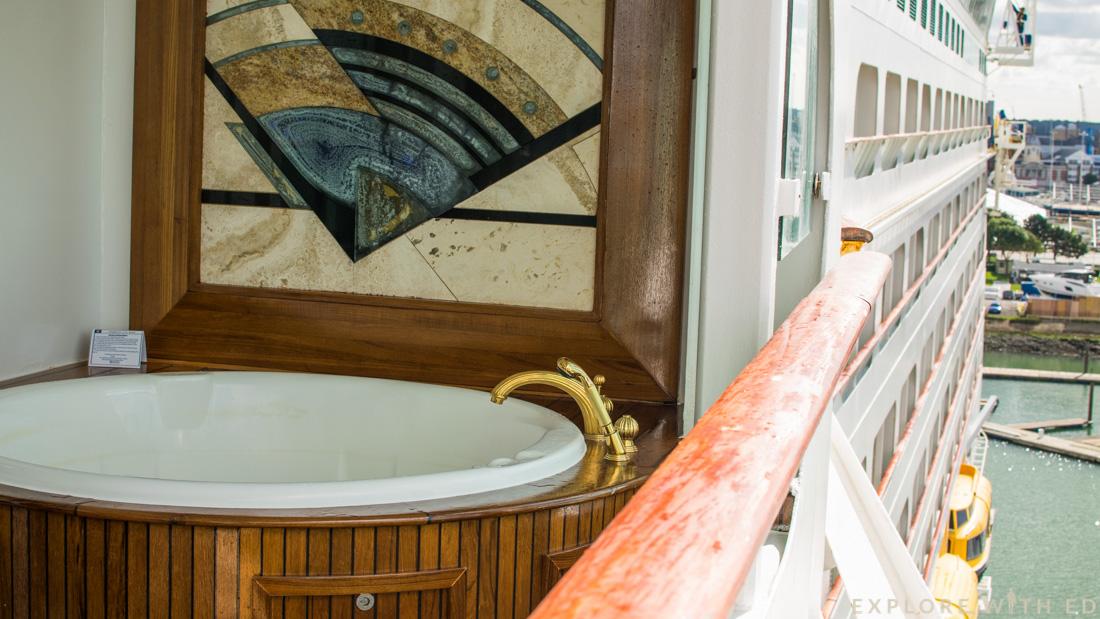Explorer of the Seas Royal Suite Balcony