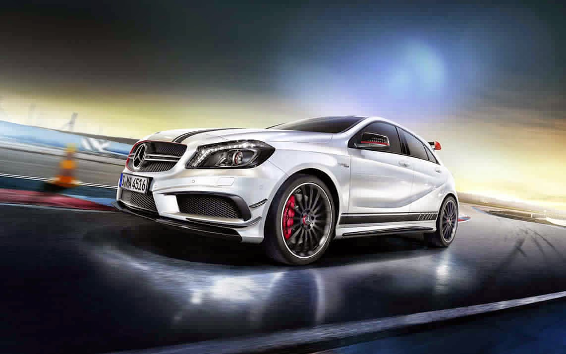 la nouvelle mercedes a45 amg amg s 385 ch auto performance. Black Bedroom Furniture Sets. Home Design Ideas