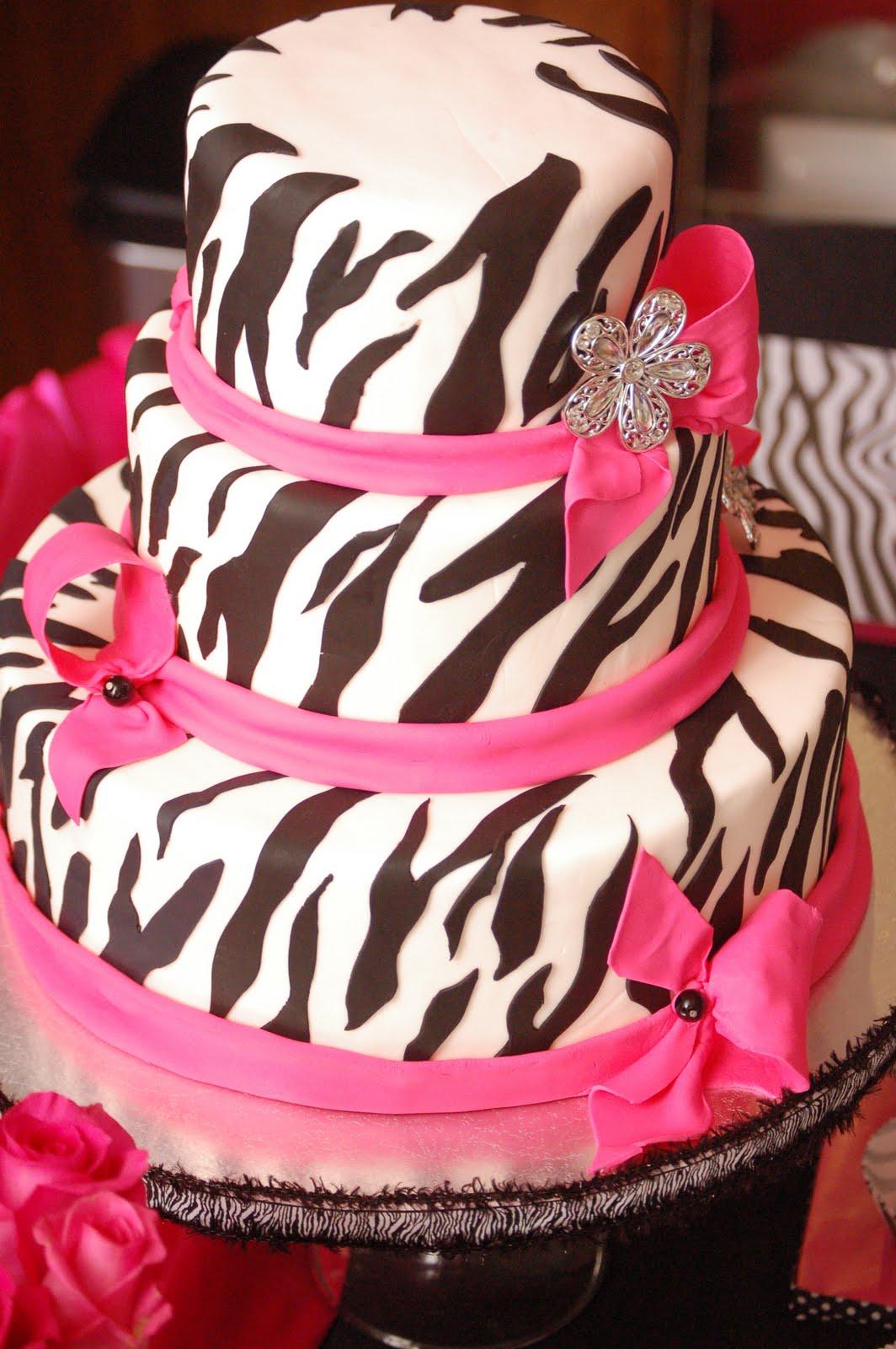 Cake Art Divas : Cakes by Tatiana: Diva Zebra Cake