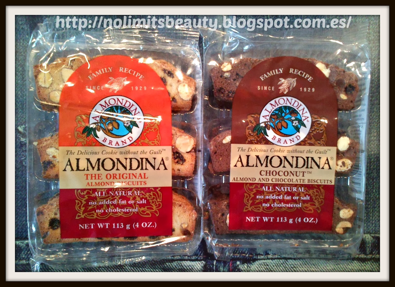 iHerb - Almondina Almond Biscuits