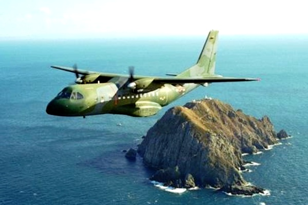 CN-235 aircraft produced by PT Dirgantara Indonesia. AeroTourismNews