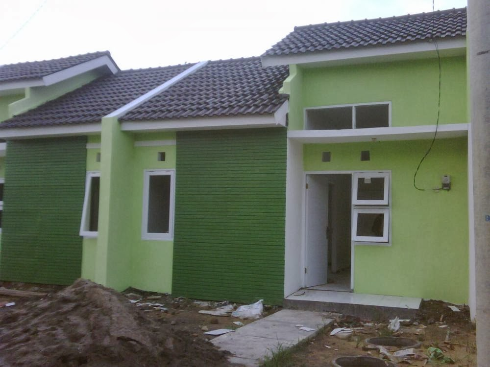 TIPE 36 ukuran tanah 6X12m TAHAP 1