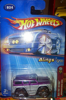 HW Blings Mercedes Benz G500 (2005)
