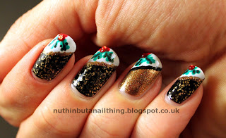 Barry M Gold Mine Holly nails