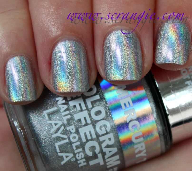 What Is Holographic Nail Polish Made Of