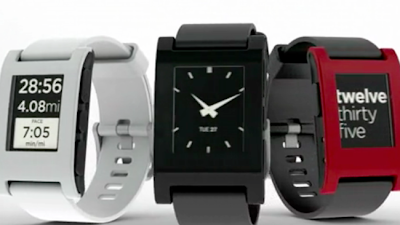 Pebble smartphone watch