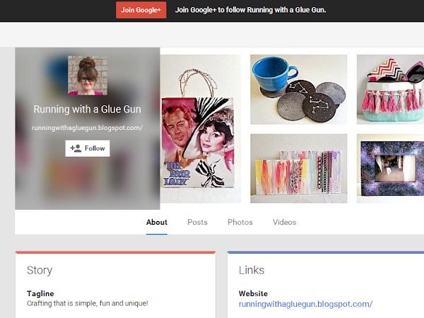 Now Follow Running with a Glue Gun on Google +