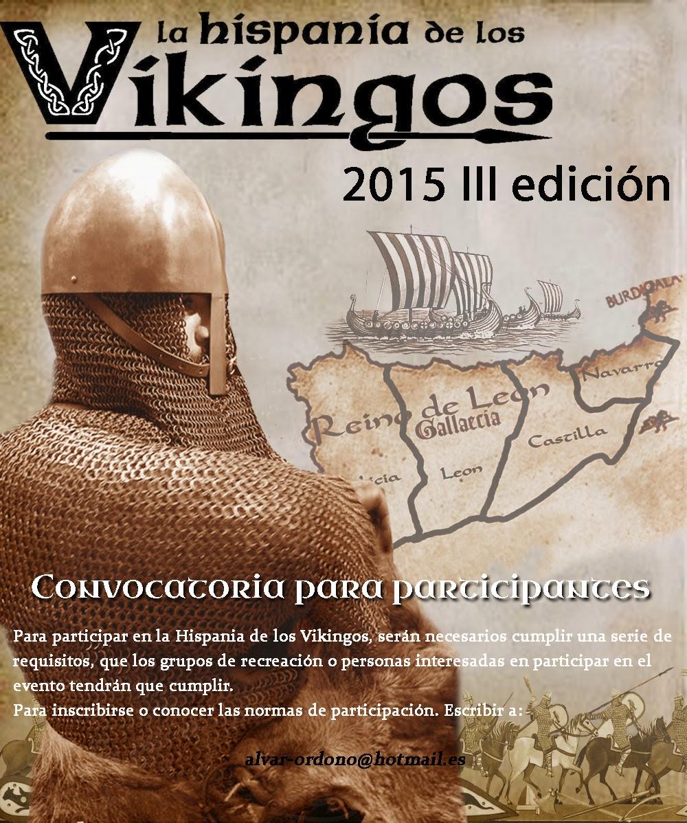 LA HISPANIA DE LOS VIKINGOS. CONVOCATORIA 2015 2015%2Bjpg