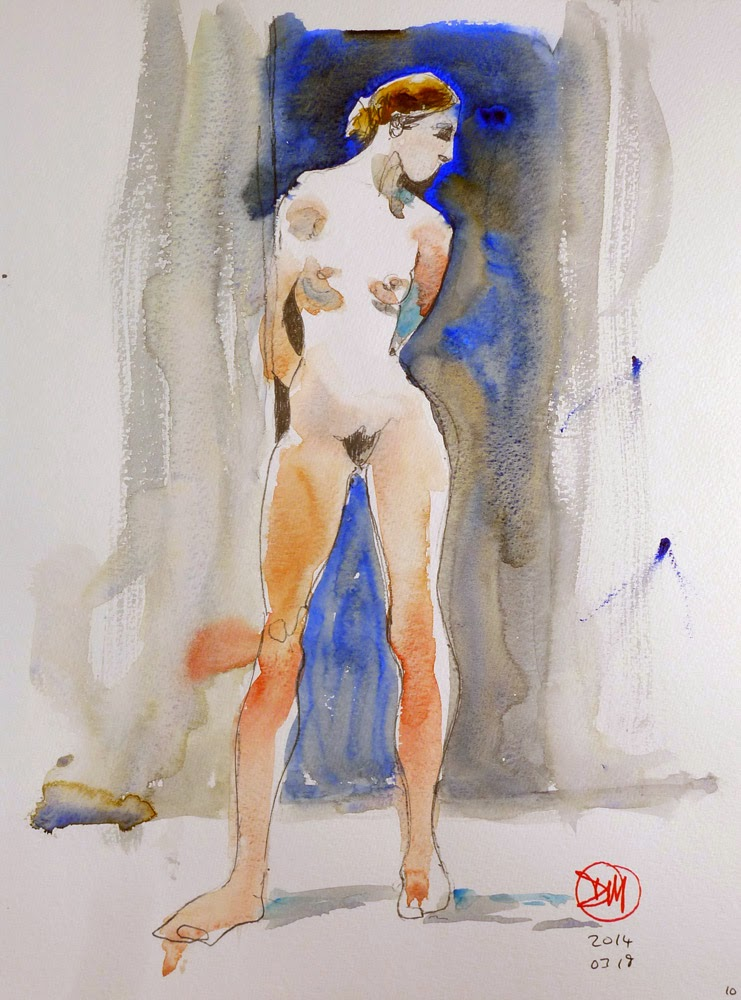 Female nude by David Meldrum