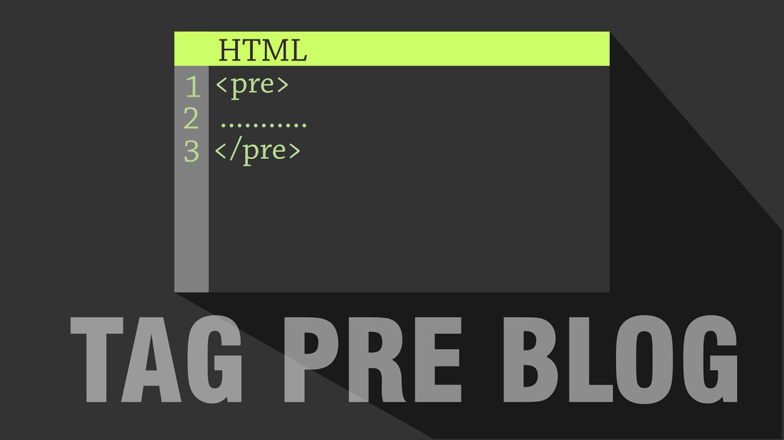 Cara Membuat Tag Pre Blog dengan No.Urut