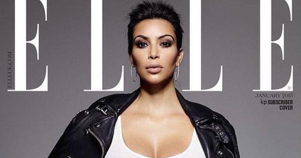Something is. Kim kardashian w cover