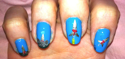 nail me, nail art, anna, rocket, shuttle, space, moon, launch