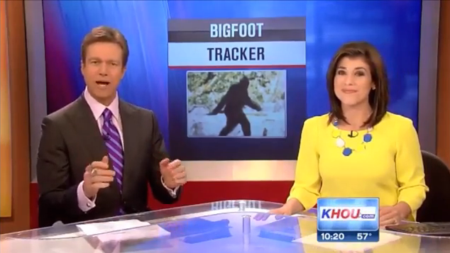 Houston News On Rick Dyer Bigfoot