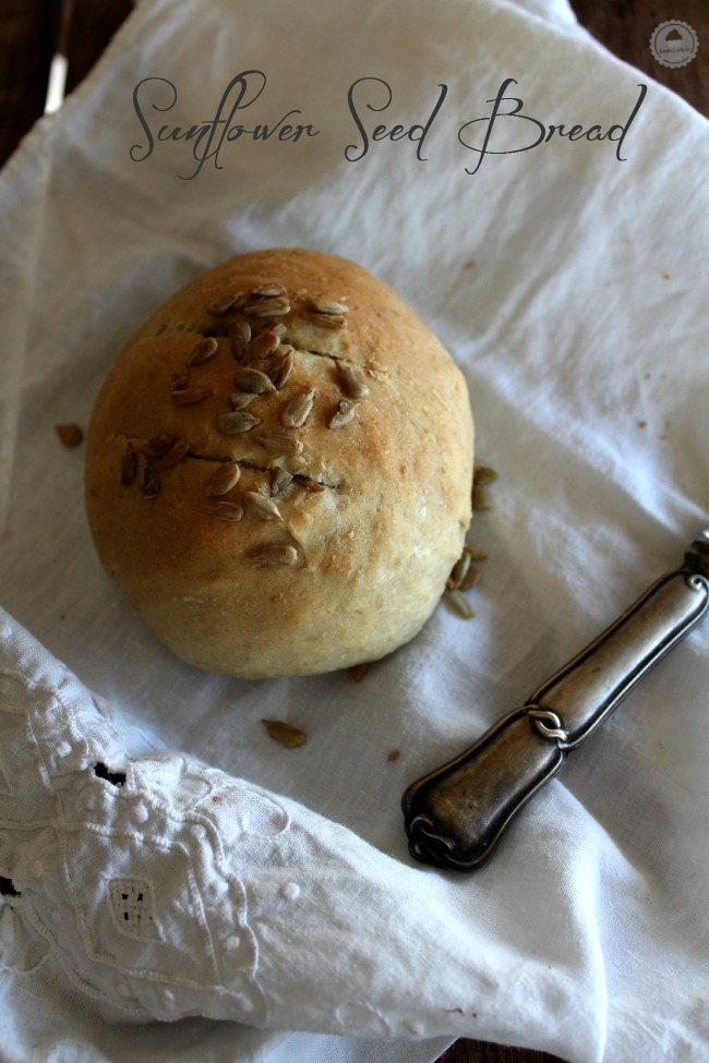 pan de pipas de girasol #breadbakers