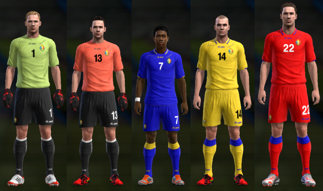 PES 2013 Moldovia 2012/13 Kits by Cuky