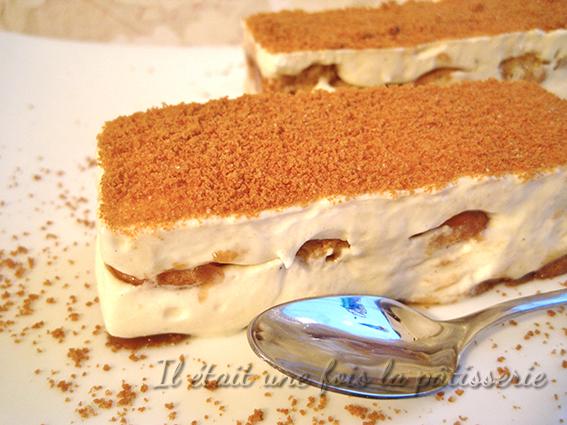 recette tiramisu vanille speculoos