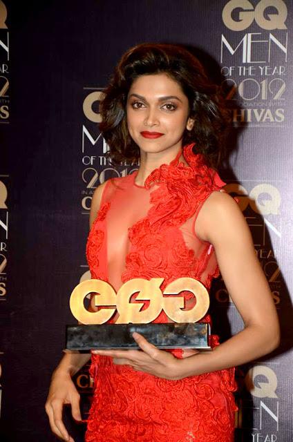 Deepika Padukone at GQ Men Of The Year 2012 Awards