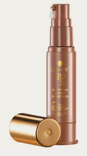 Lakmé 9to5 Mattifying Super Sunscreen for oily skin with SPF 50