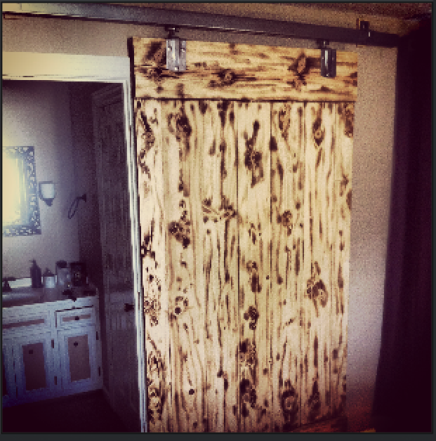 Rustic Schmitt Interior Barn Door