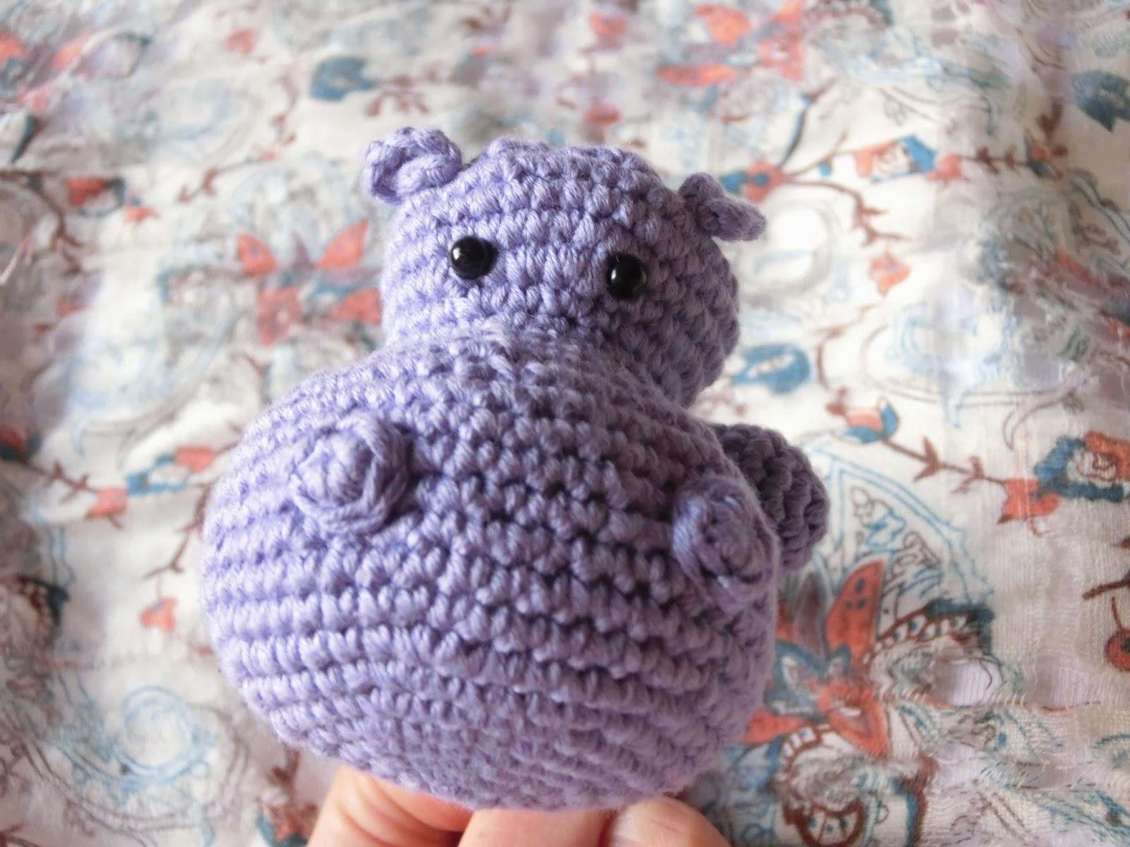maia_knit: Marioneta hipopótamo