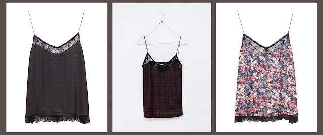 tendencia de temporada, ideal para estas fiestas navideñas, el look lencero en vestidos, faldas y tops.