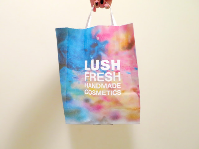Lush bag bath haul