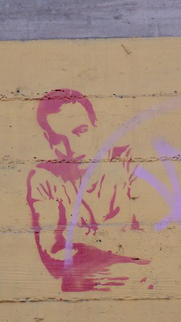 street art in santiago de chile stencil arte callejero