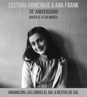 Lectura Conjunta El diario de Ana Frank