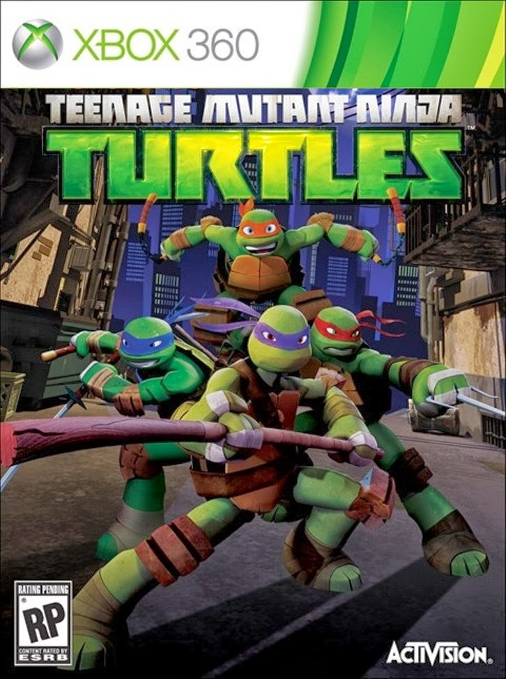 Download - Jogo Teenage Mutant Ninja Turtles XBOX360-iMARS (2013)