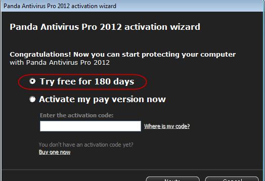 Operating Support   Panda Anti Virus Pro 2012 Can Manage Windows XP