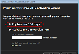 Panda Antivirus Pro 2012 Free Download 6 Monthe Activation Code