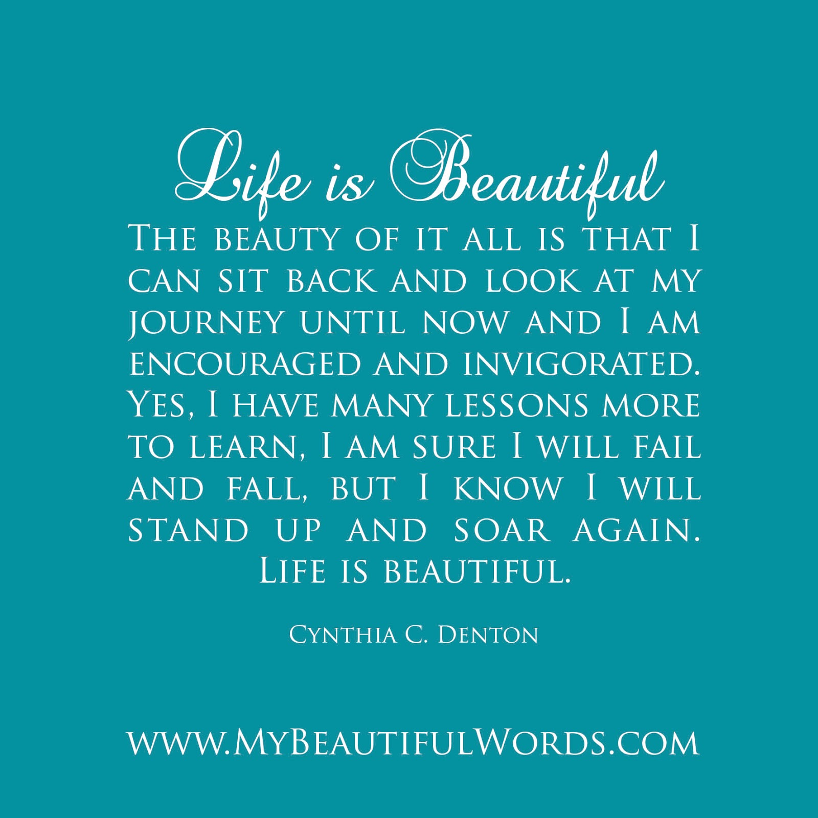 life beautiful essay questions