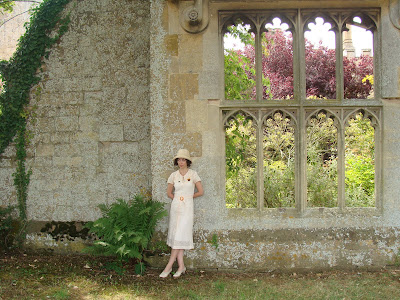 1930's outfit at Sudeley Castle
