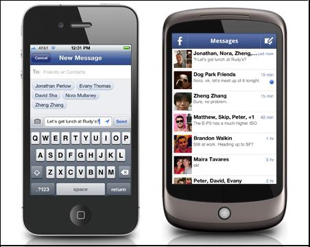 Facebook Chat On Mobile