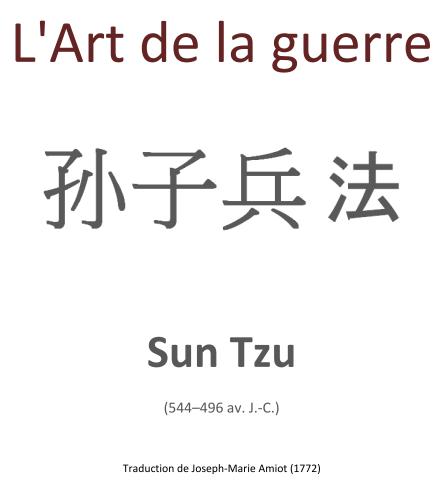 L'art de la guerre - Sun Tzu - Livre PDF gratuit
